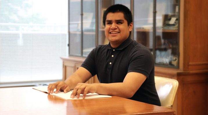 Carlos is one of thousands of people who rely on ABLE for access to printed materials.